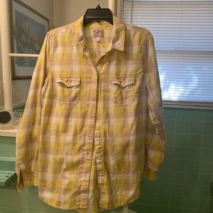 Old Navy flannel button down shirt